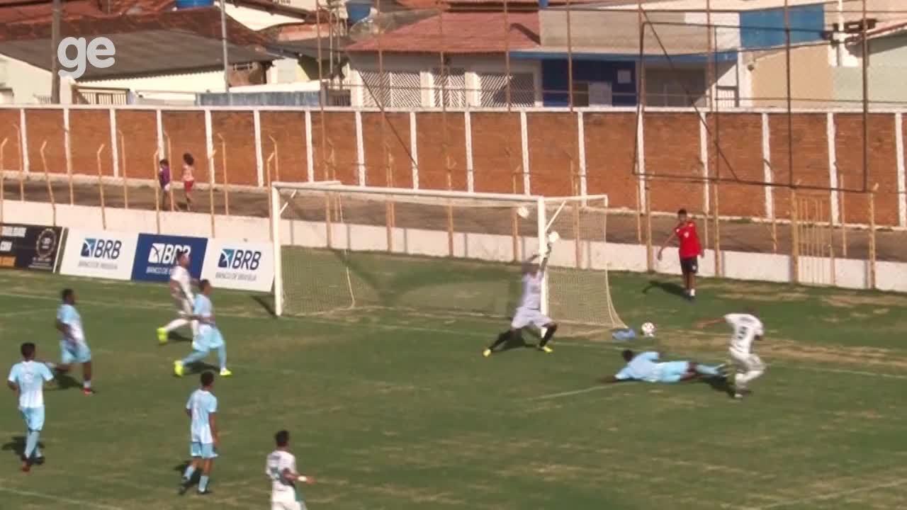 Os gols de Formosa 2 x 2 Luziânia pelo Campeonato Brasiliense 2018