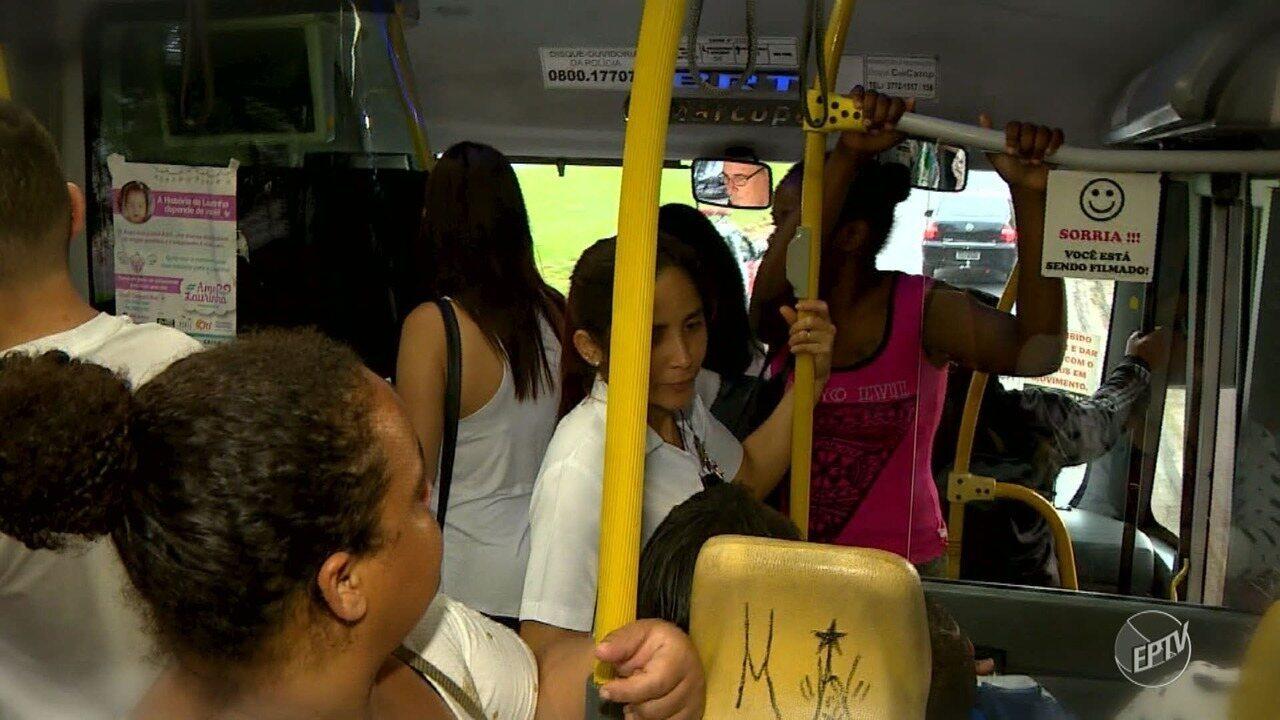 Confira a rotina da linha de ônibus 212, considerada a mais superlotada de Campinas