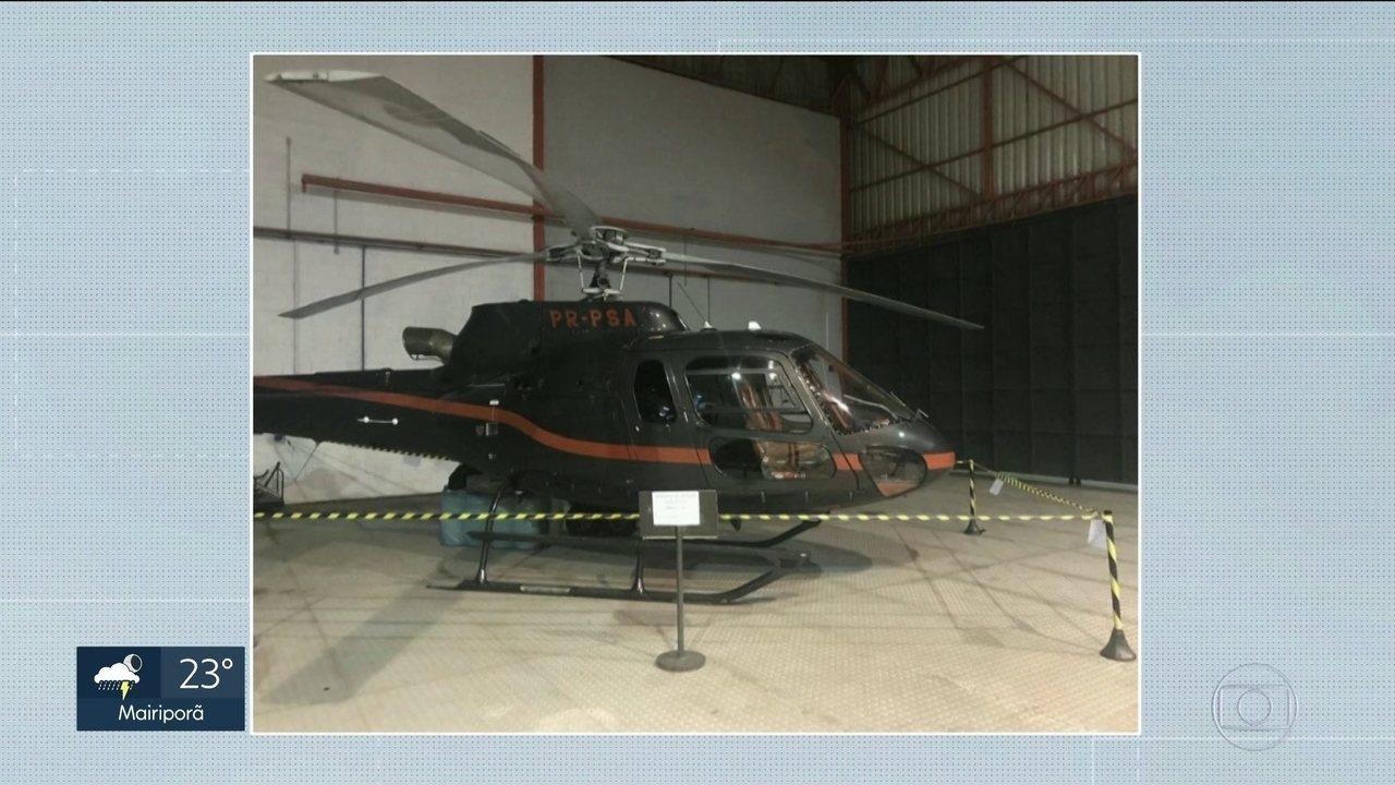 Polícia acha aeronaves usadas por suspeito de ter matado chefes de uma facção criminosa