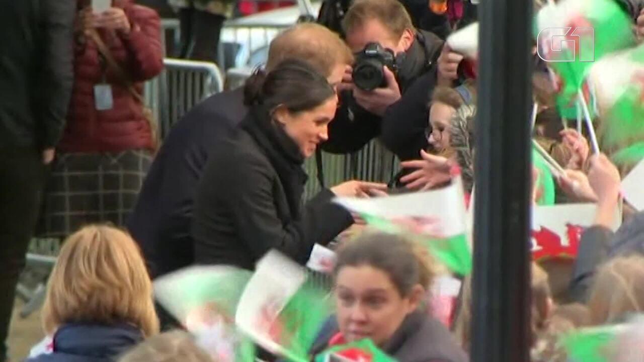 Príncipe Harry e Meghan Markle irão convidar o público para ver a chegada dos noivos