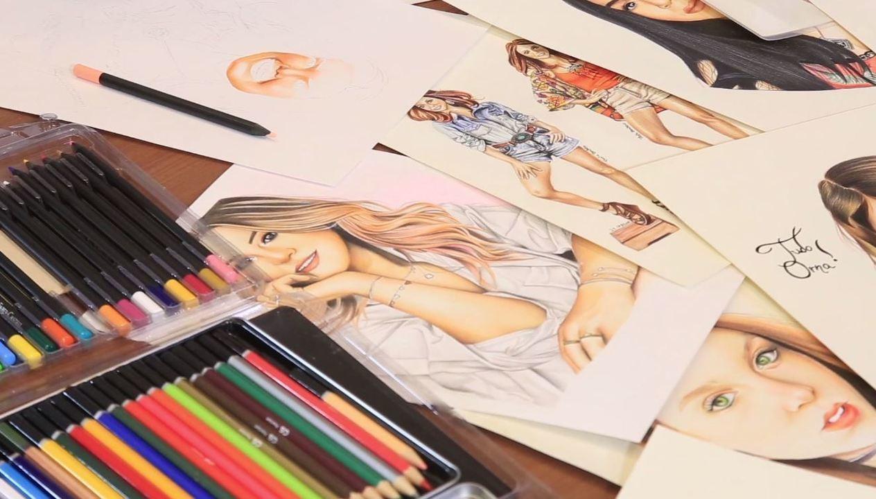 Thalyta Barbosa conta detalhes de sua trajetória como desenhista