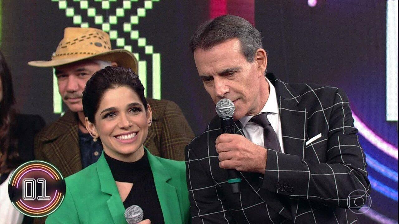 Márcio Gomes e Sabrina Petraglia vencem o Ding Dong