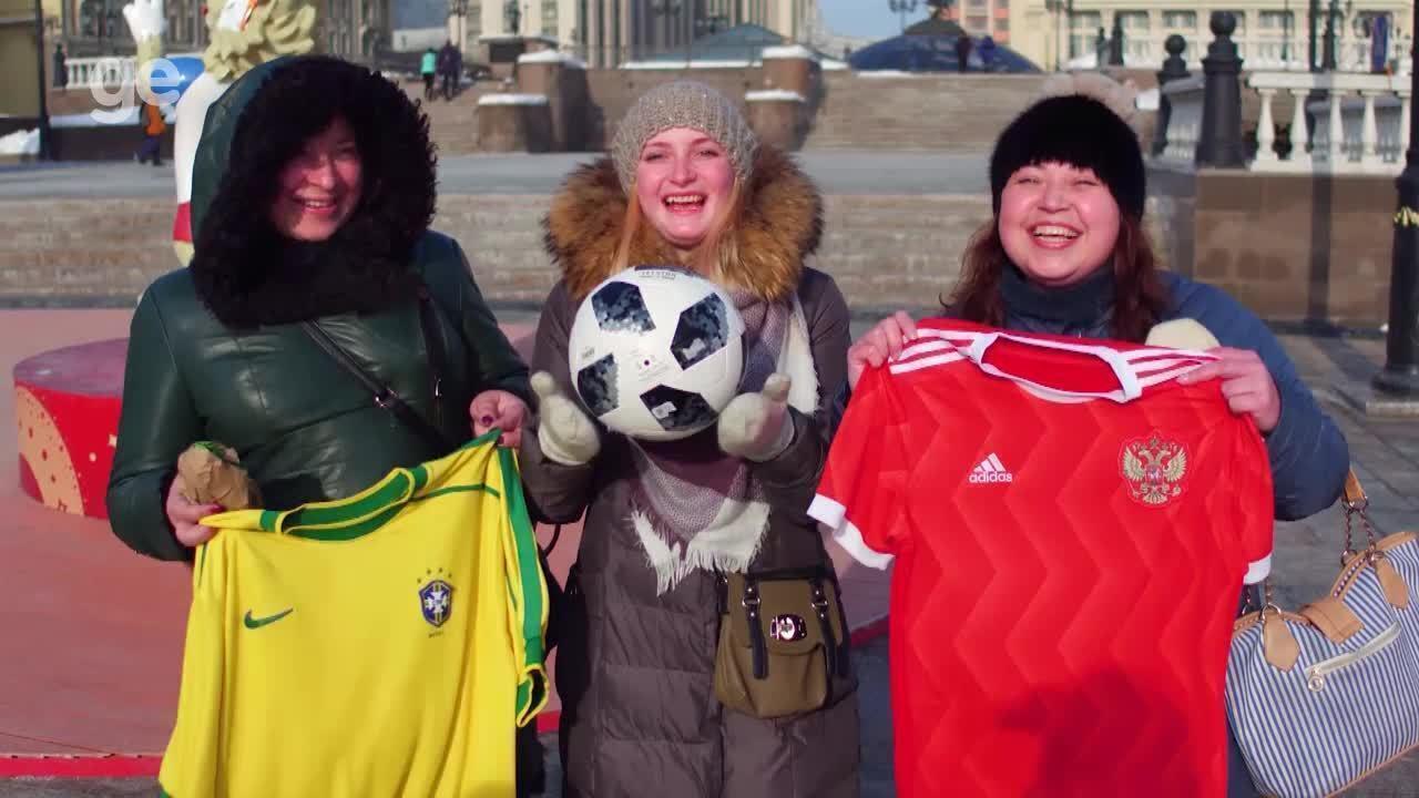 Russos comentam expectativa para início da Copa do Mundo daqui a 100 dias