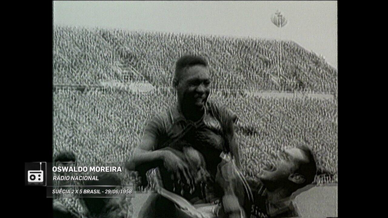 Redação AM: Oswaldo Moreira narra golaço de Pelé na Copa de 1958
