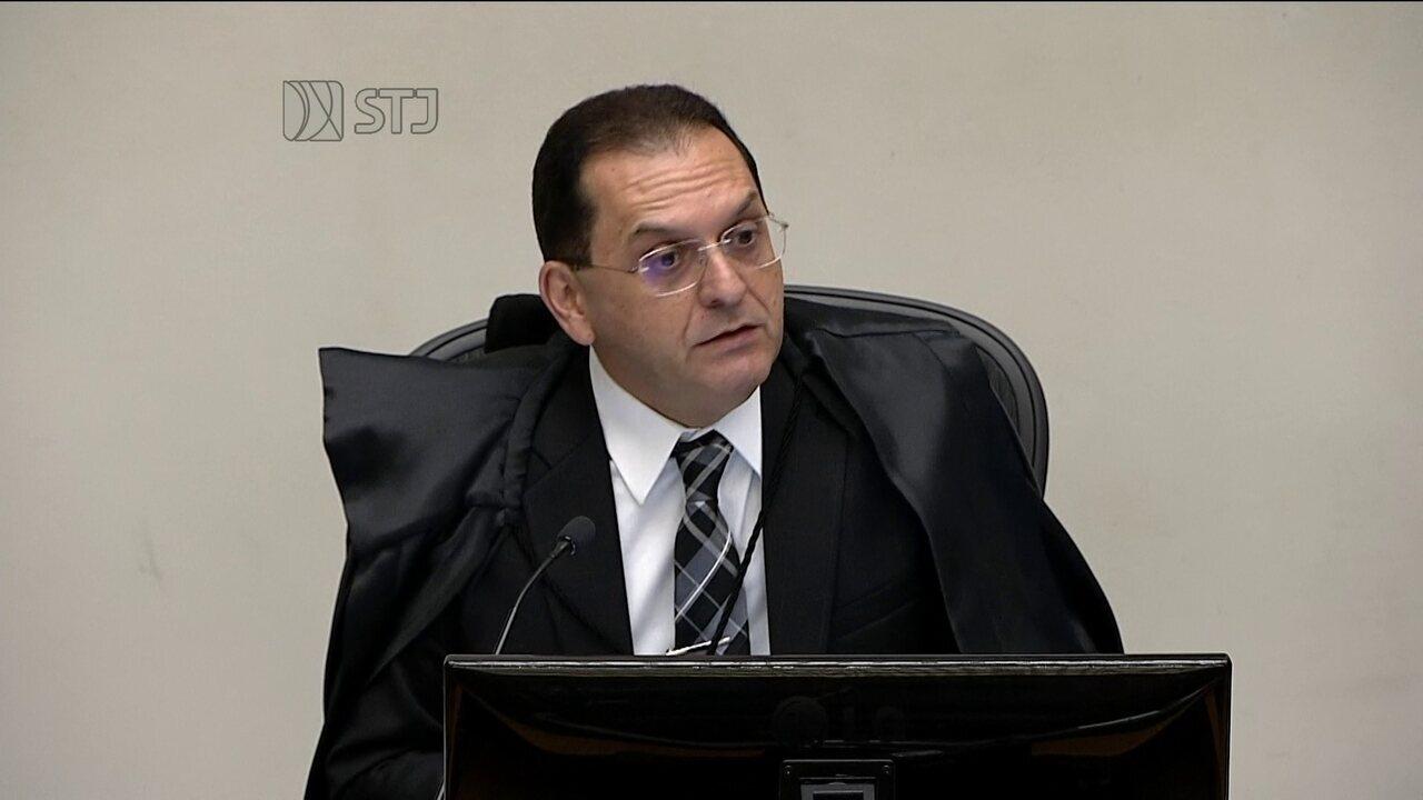 Ministro Reynaldo Soares da Fonseca profere seu voto sobre pedido de habeas corpus de Lula