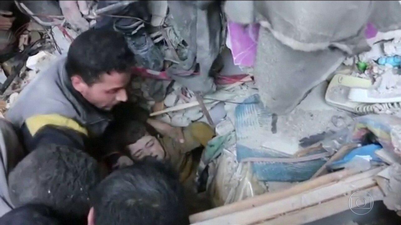 ONU aponta violações graves dos direitos humanos na guerra civil da Síria.