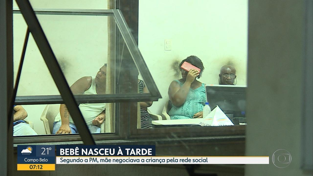 Mulher é presa em Contagem suspeita de tentar vender bebê, diz polícia