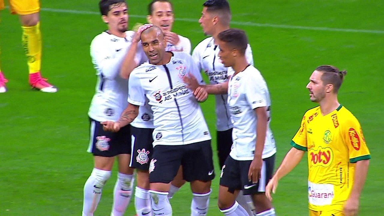 22343317f2 Melhores momentos  Corinthians 1 x 0 Mirassol pela 11ª rodada do Paulistão  2018