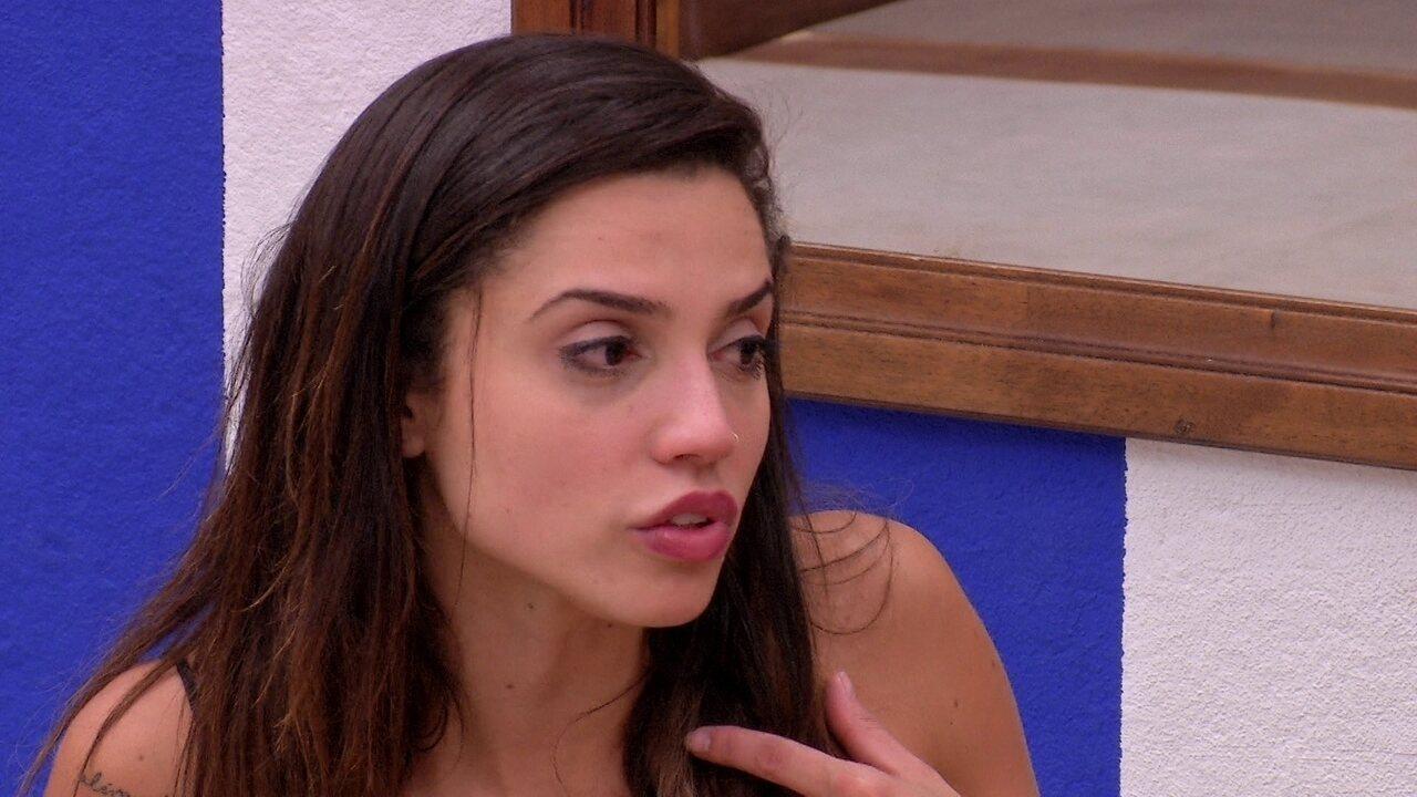 Paula dispara para Ana Clara: 'Você está se expondo e me expondo'