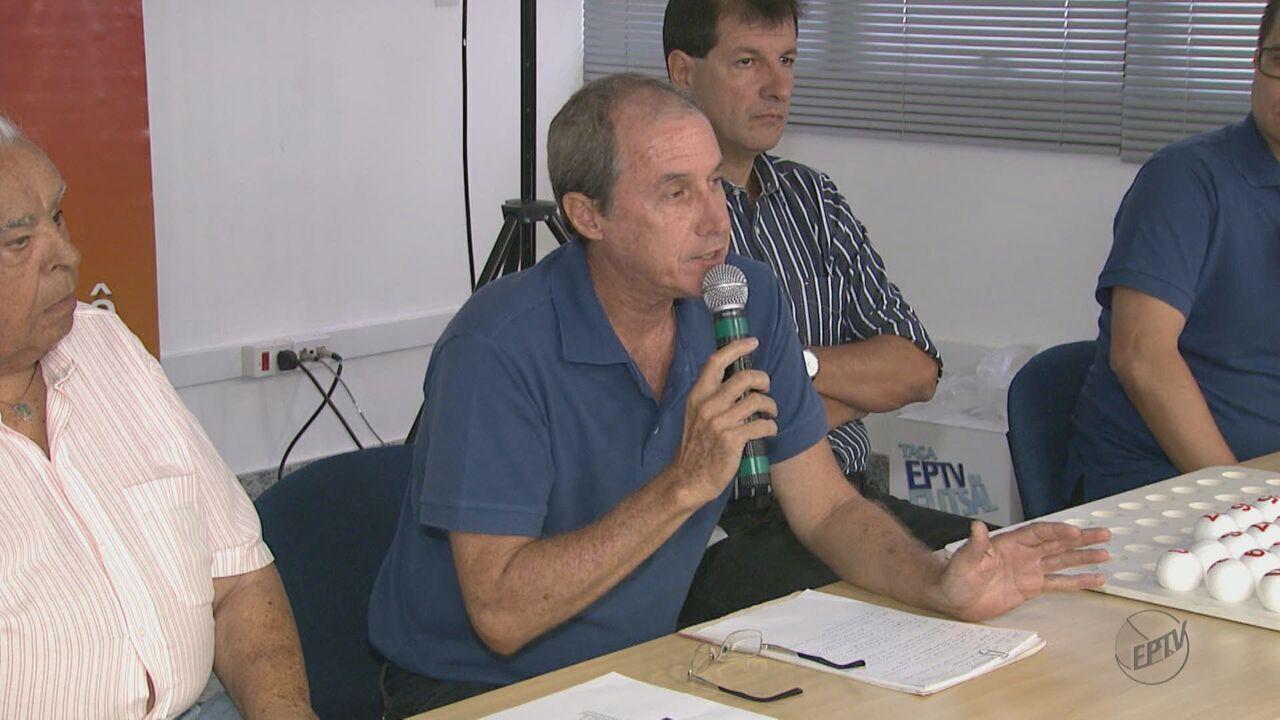 Sede da EPTV Central recebe Congresso Técnico da 22ª Taça EPTV de Futsal