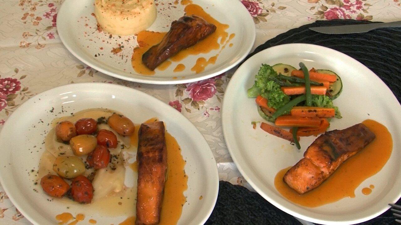 Receita: aprenda a fazer salmão grelhado ao molho de cajá