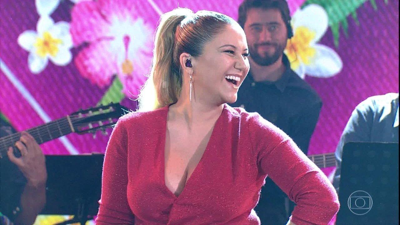 Maria Rita canta 'Cara Valente'