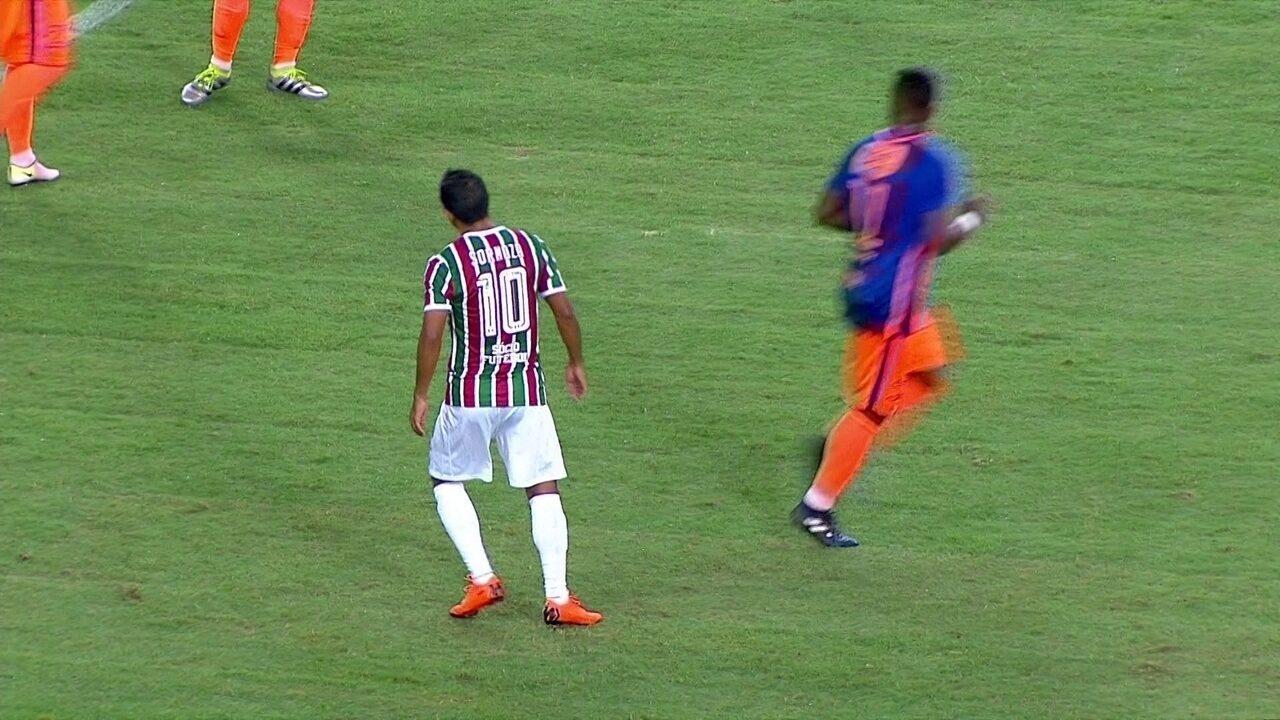 Melhores momentos de Fluminense 2 x 1 Nova Iguaçu