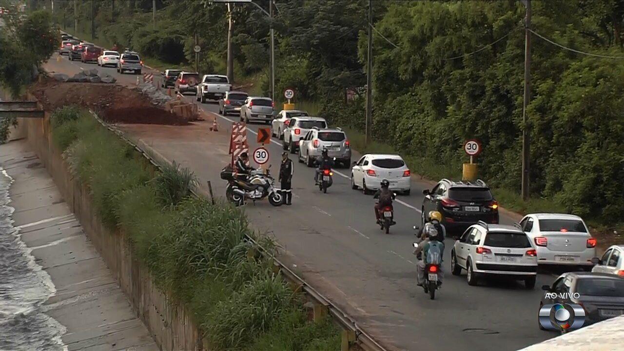 SMT começa a multar quem não respeitar as mudanças no tráfego da Marginal Botafogo