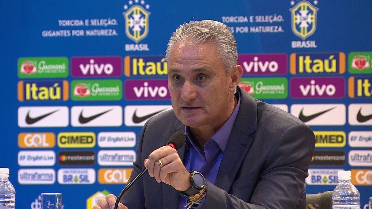 29e42bfffb Tite quer Brasil forte sem Neymar e diz que ainda há disputa por ...