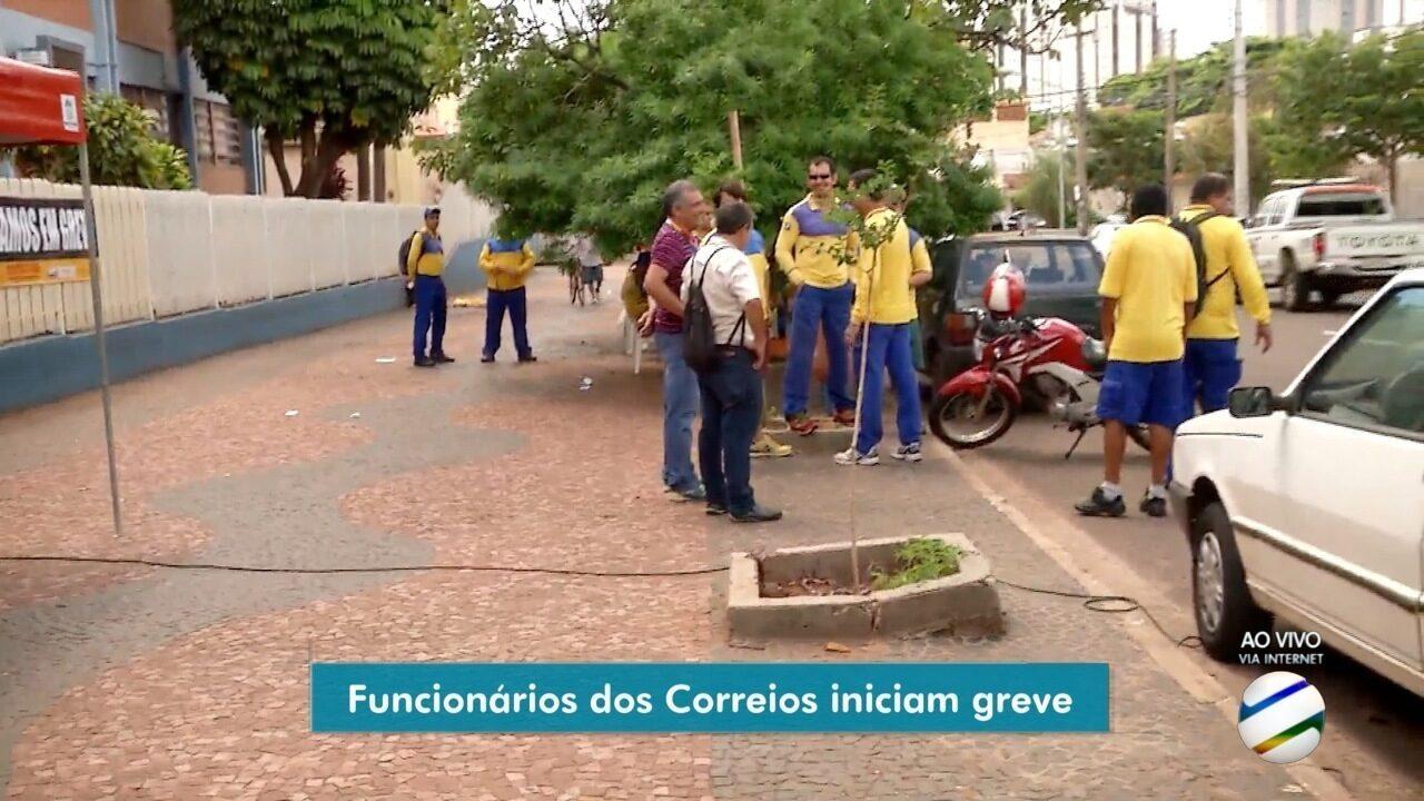 Funcionários dos Correios entram em greve em MS, mas 88% do efetivo está trabalhando