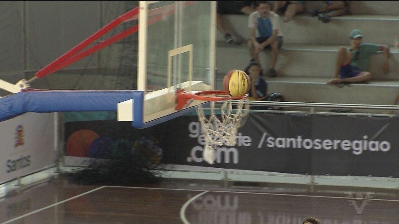Tribuna Esporte: Copa TV Tribuna de Basquete Escolar agita ginásio do Sesc
