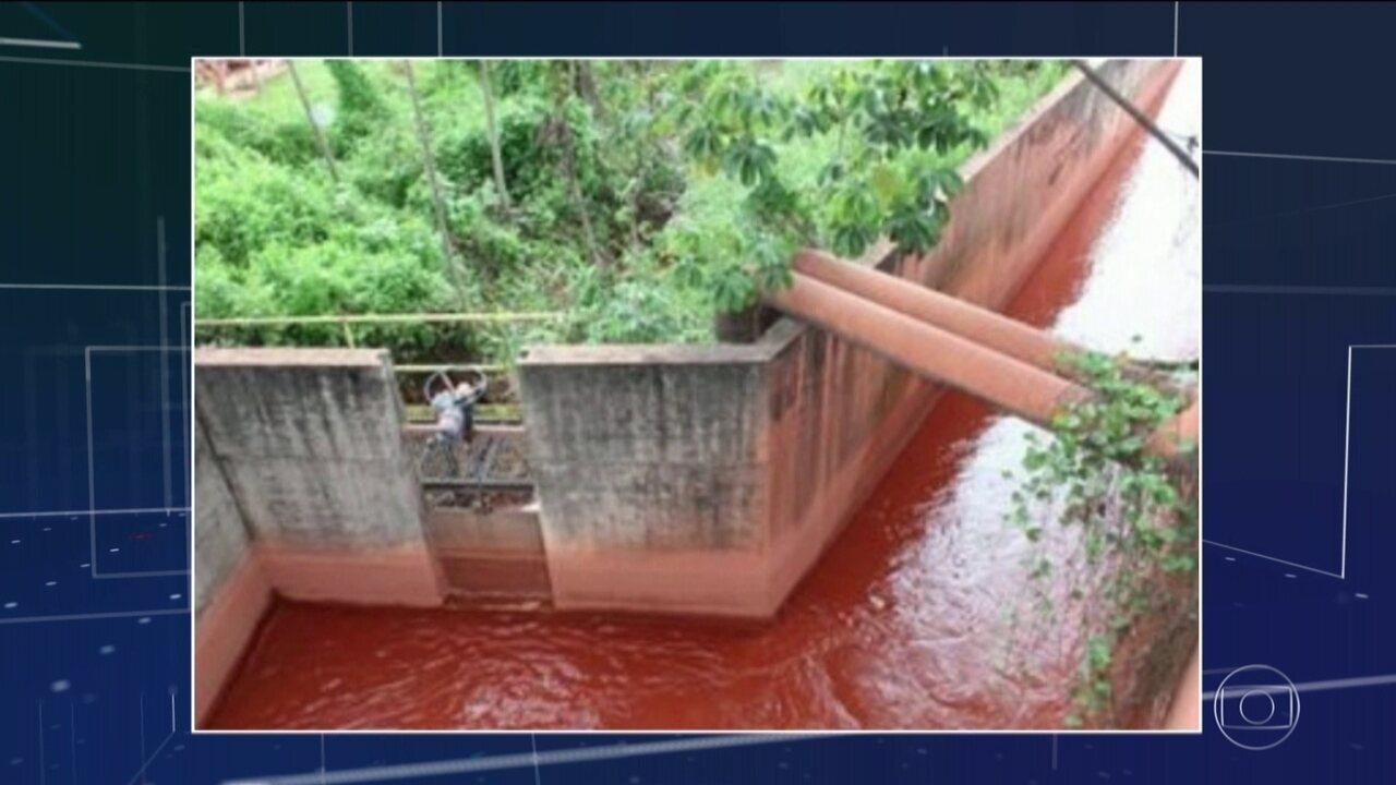 MP do Pará identifica novo despejo irregular de mineradora em Barcarena