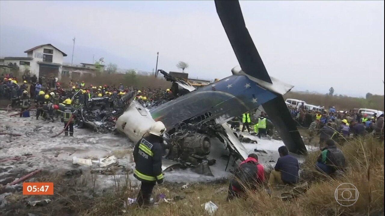 Encontradas as caixas-pretas de avião que caiu no Nepal