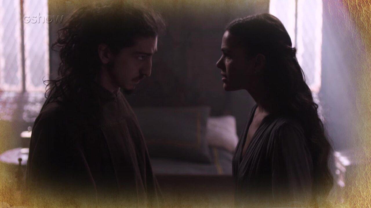 Resumo de 14/03: Rodolfo se disfarça para ver Catarina