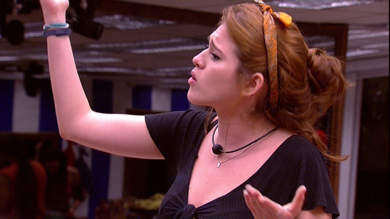 Ana Clara rebate Caruso: 'Vem me acusar de coisas e não fala nada? Mete o pé'