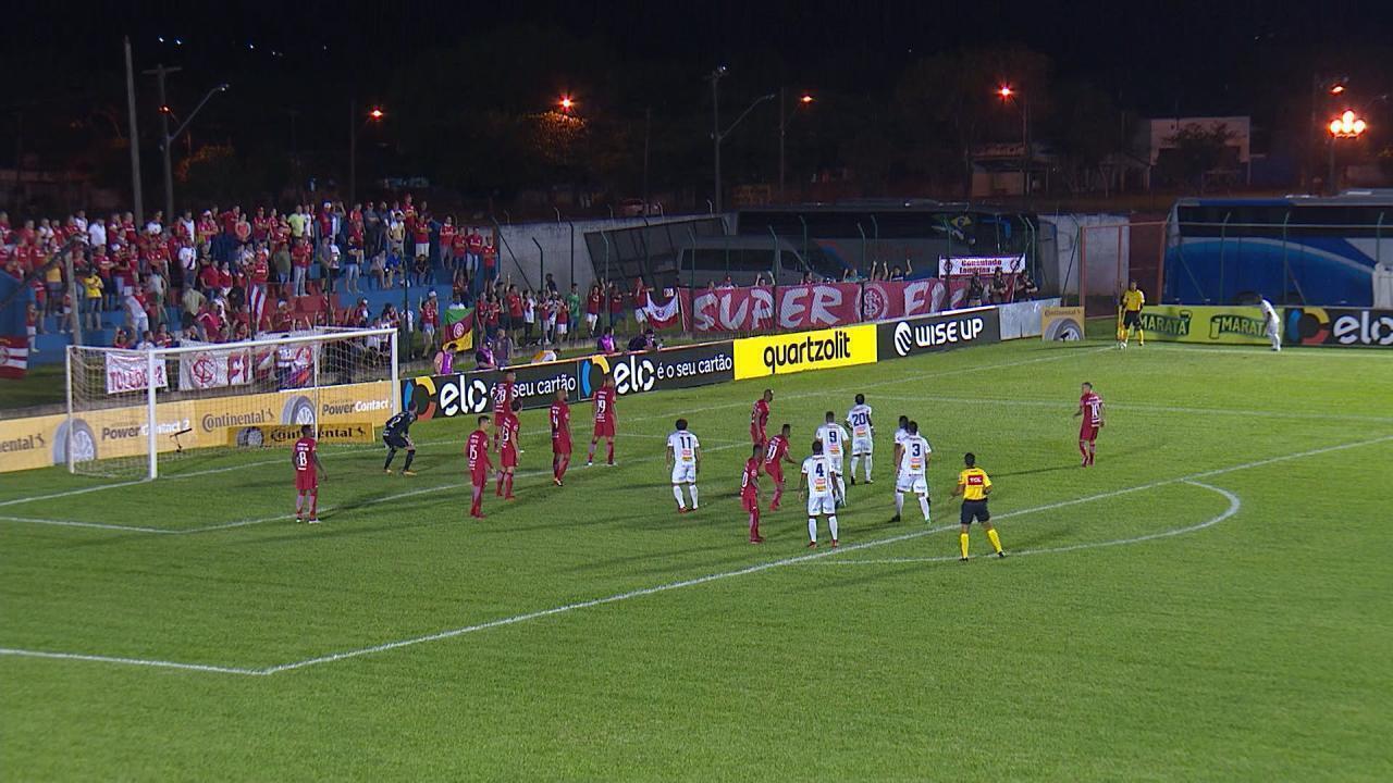 Confira os melhores momentos da vitória do Inter por 2 a 0 contra o Cianorte