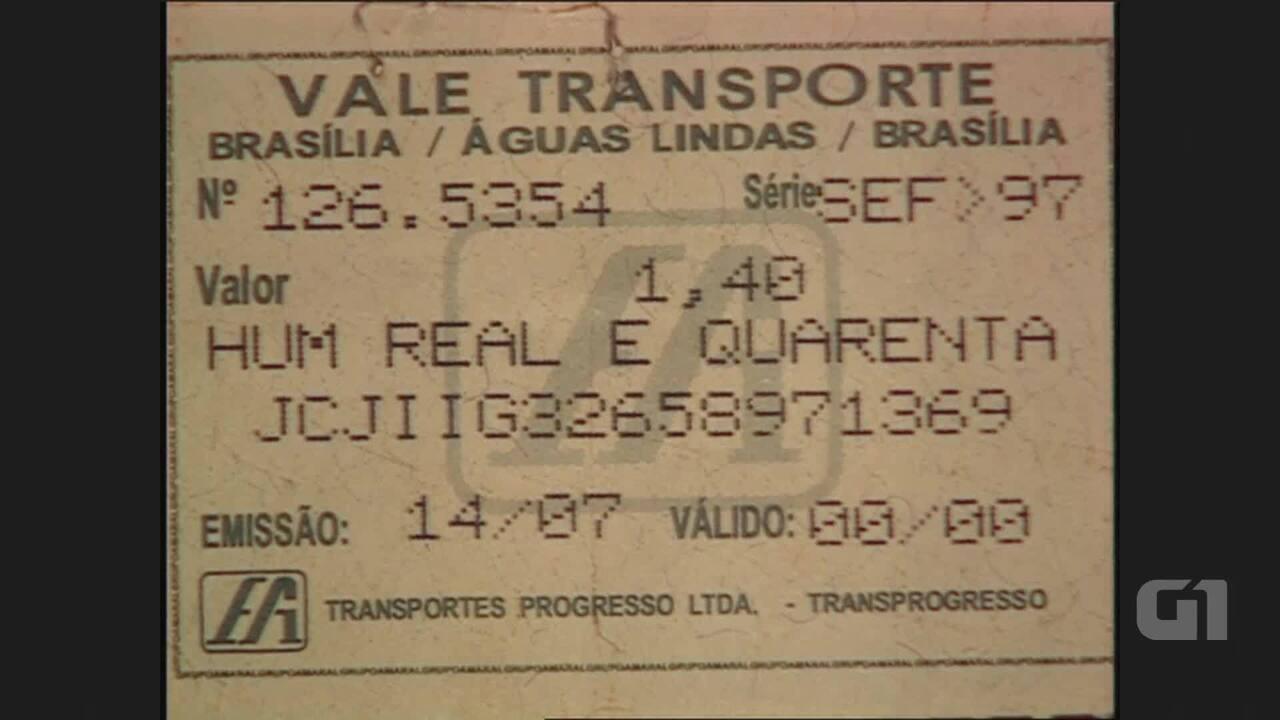 Imagens de arquivo: fraude em bilhetagem no vale-transporte do DF não é de hoje
