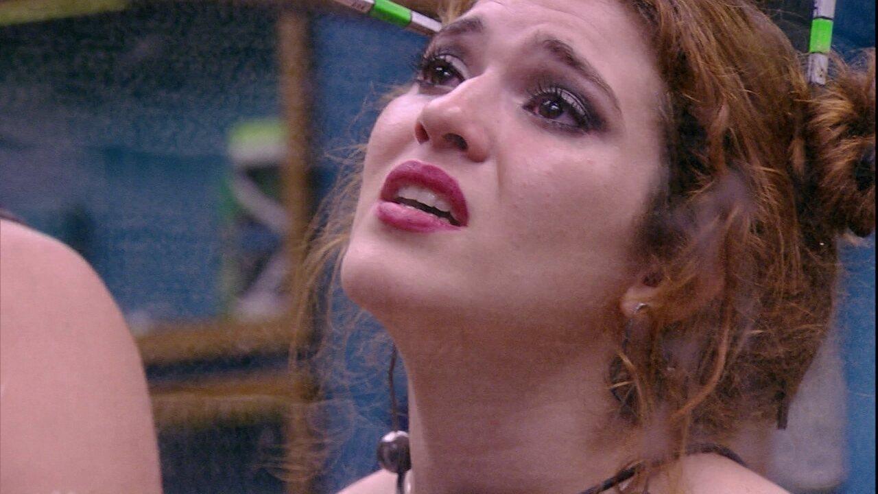 Ana Clara garante a Breno: 'Você não me fez mal'
