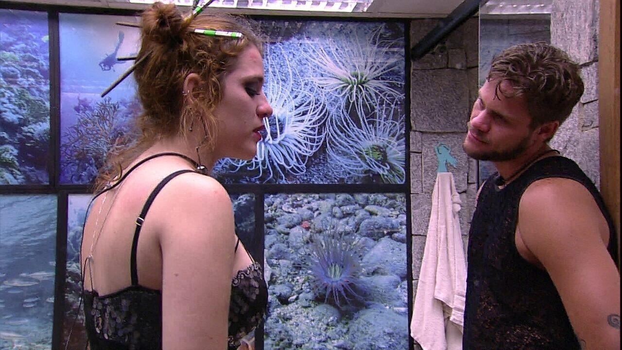 Ana Clara afirma para Breno: 'Prefiro não ficar perto de você'