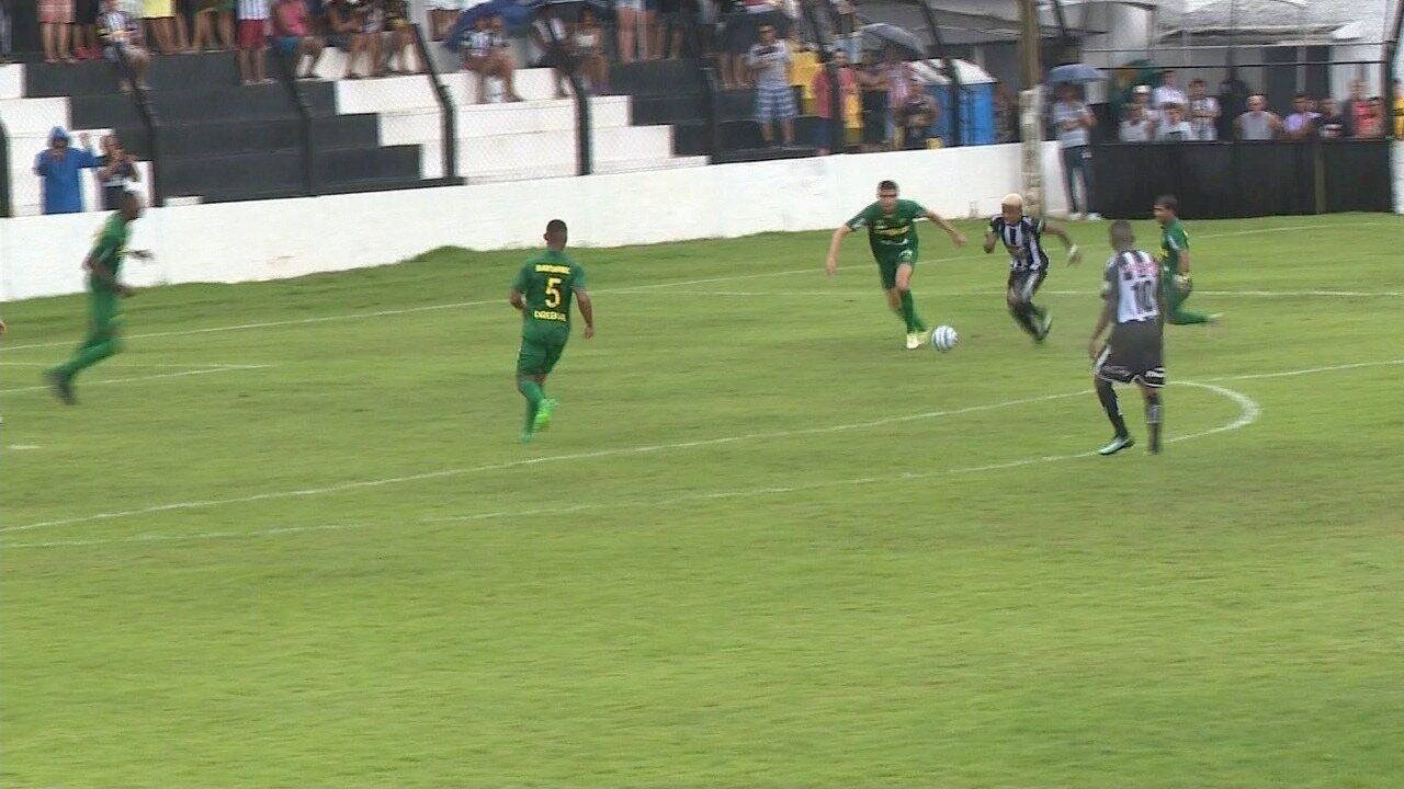 Os gols de Atlético-ES 3 x 1 Cuiabá, pela Copa Verde 2018