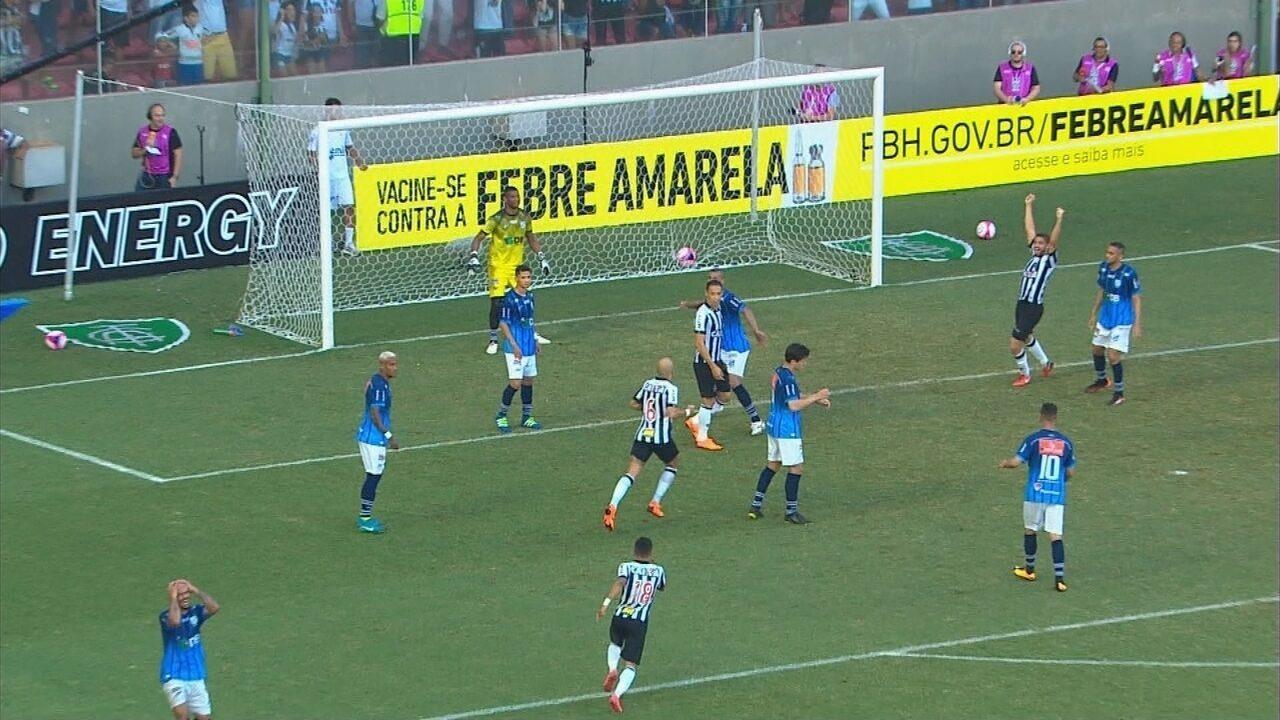 Melhores momentos de Atlético-MG 1 x 0 URT pelo Campeonato Mineiro