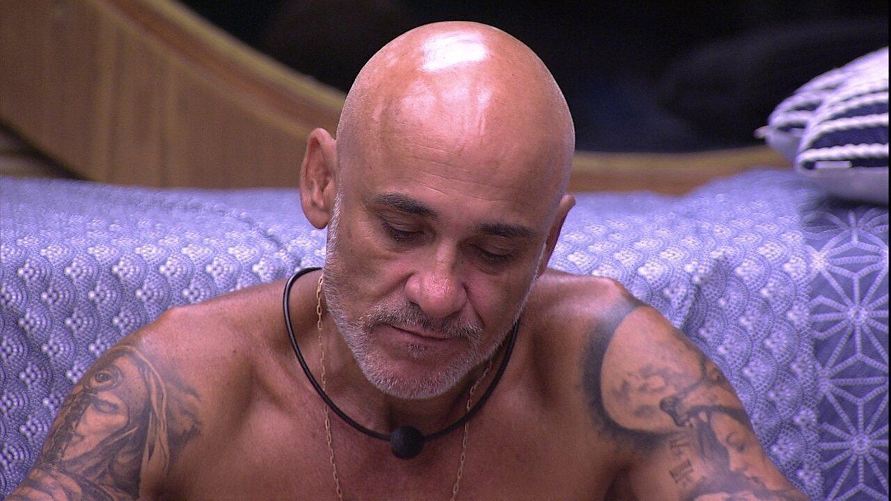 Gleici cogita Paredão entre Jéssica e Diego, e Ayrton opina: 'Ela sai'
