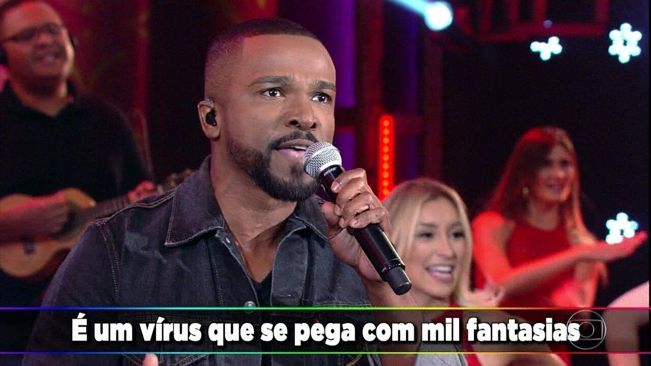 Alexandre Pires relembra sucesso 'Que Se Chama Amor'