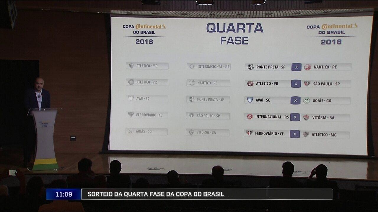 Quarta fase da Copa do Brasil terá Atlético-PR x São Paulo  veja ... 94f96f61b0f70