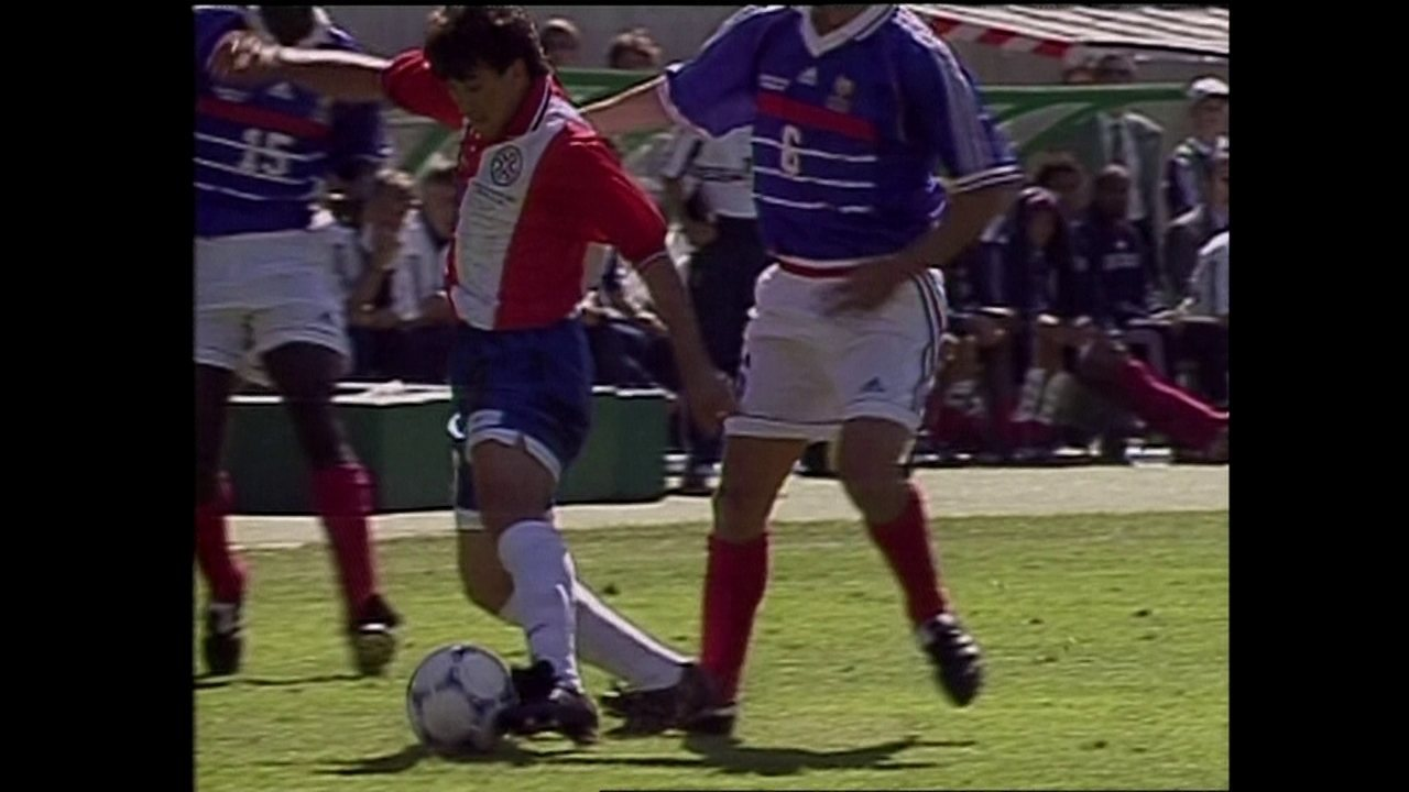 Copa de 98: melhores momentos de França 1 x 0 Paraguai