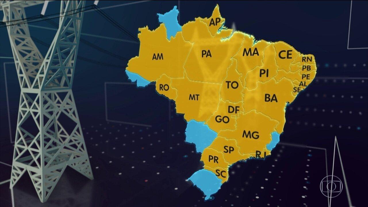 Apagão atinge Norte e Nordeste; Rio, SP e MG também tiveram falta de luz