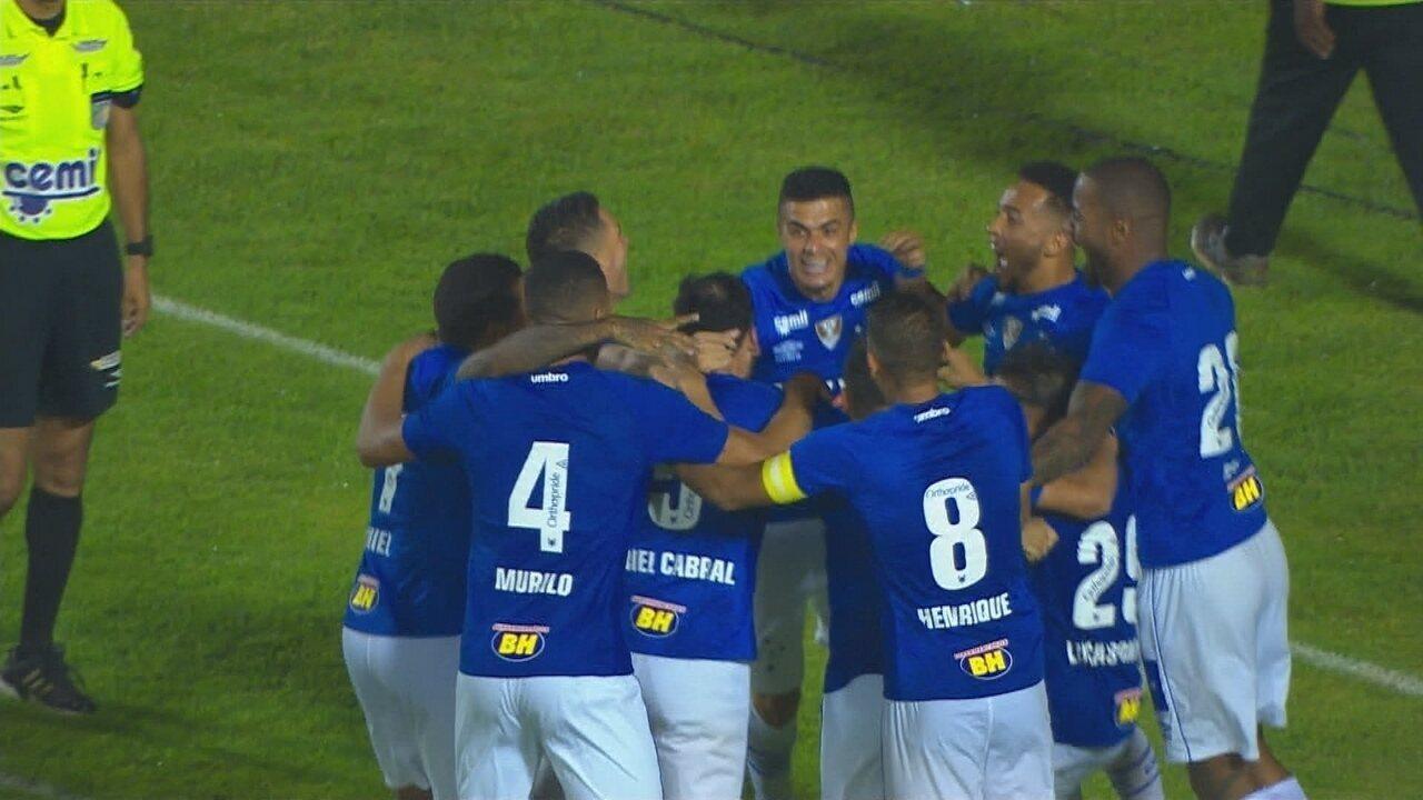 Veja o gol de Tupi-MG 0 x 1 Cruzeiro pela semifinal do Campeonato Mineiro