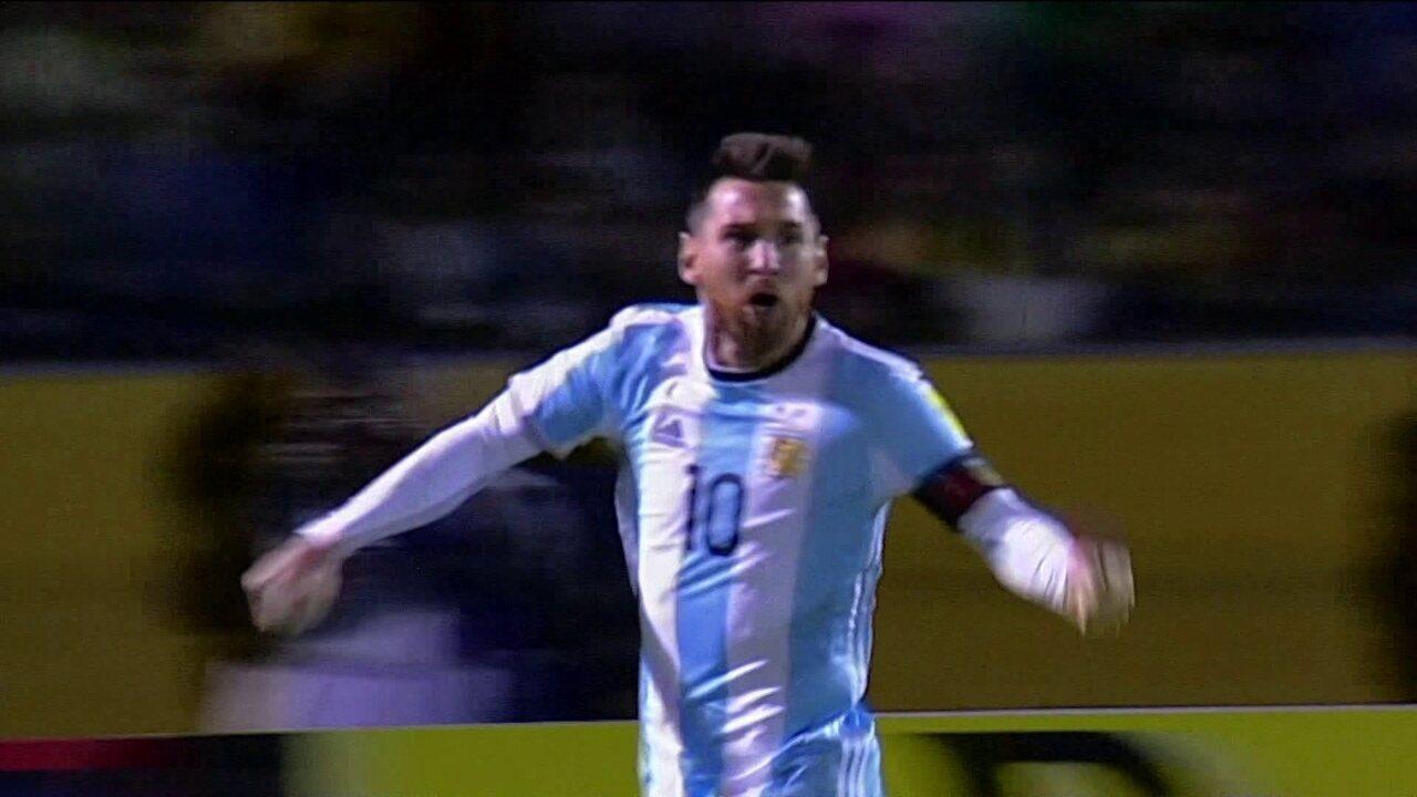 14b5819fc3 Comentaristas falam da importância de Messi para a Argentina