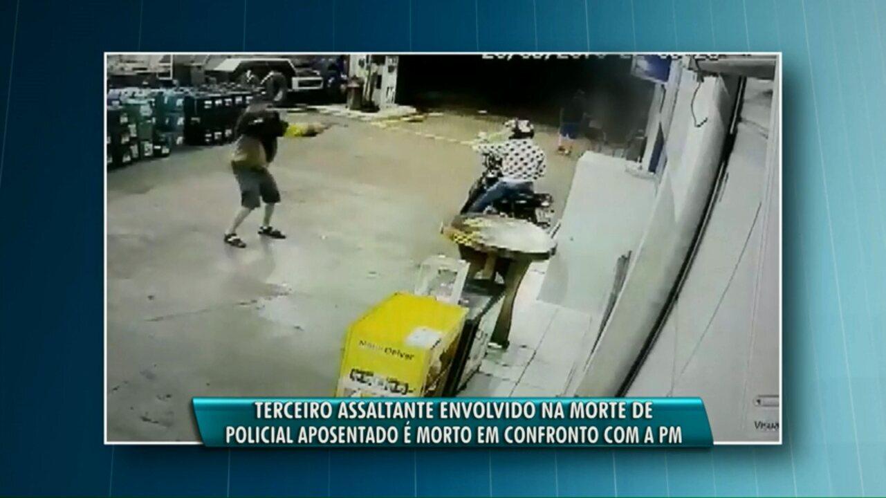 Suspeito de participar de tentativa de assalto à posto de combustível é morto pela polícia
