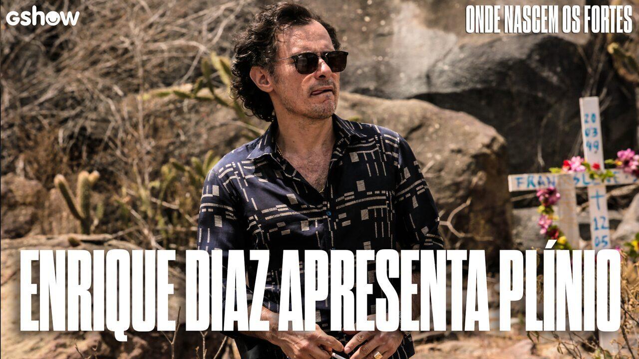 Enrique Diaz apresenta Plínio, seu personagem em
