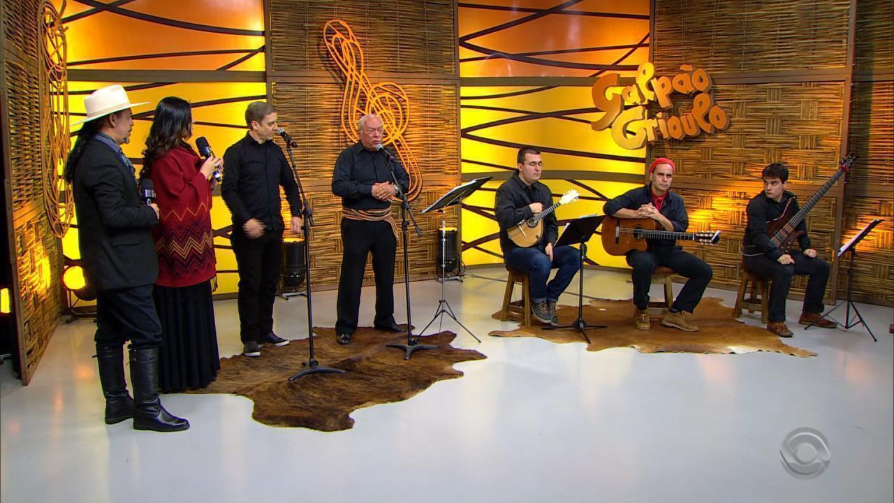 Marco Aurélio Vasconcellos e Martim César lançam disco no 'Galpão' (bloco 4)