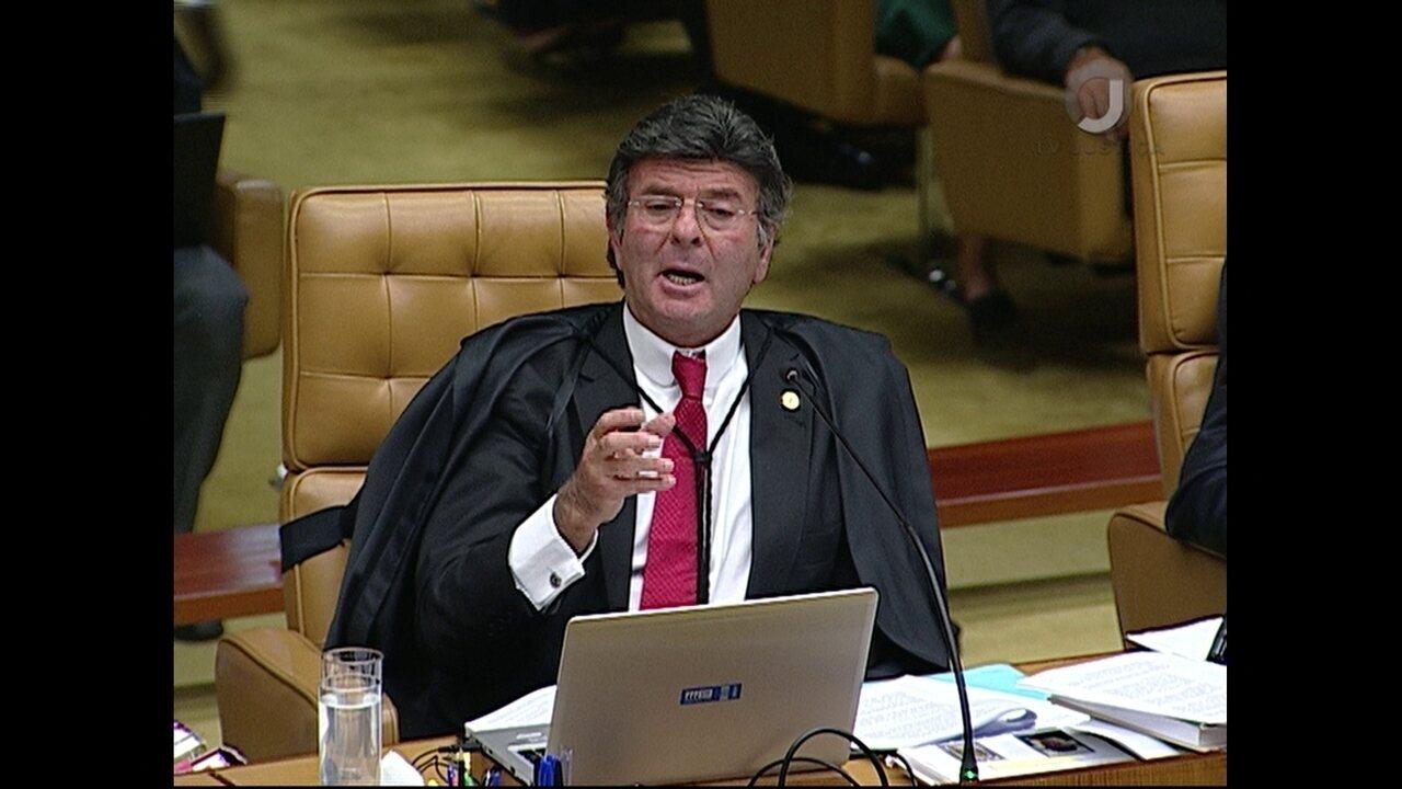 Luiz Fux vota em julgamento de pedido de habeas corpus de Lula no STF