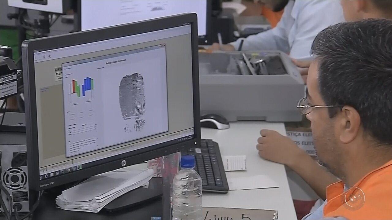 Prazo para cadastro biométrico para eleições termina nesta 6ª na região de Botucatu
