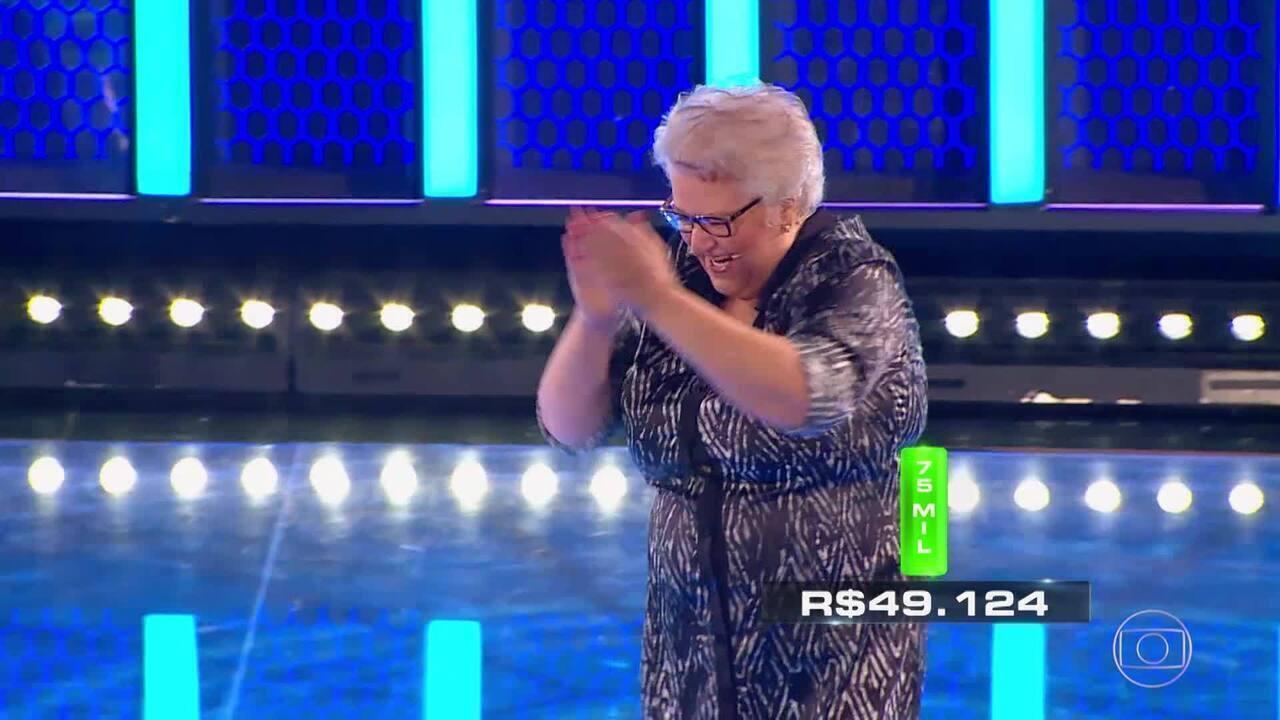 Terceira rodada do 'The Wall' deixa Dona Ana muito feliz