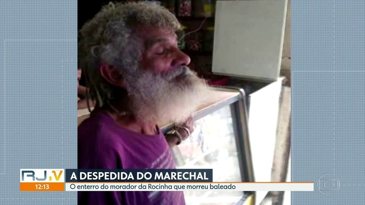 A despedida do Marechal da Rocinha