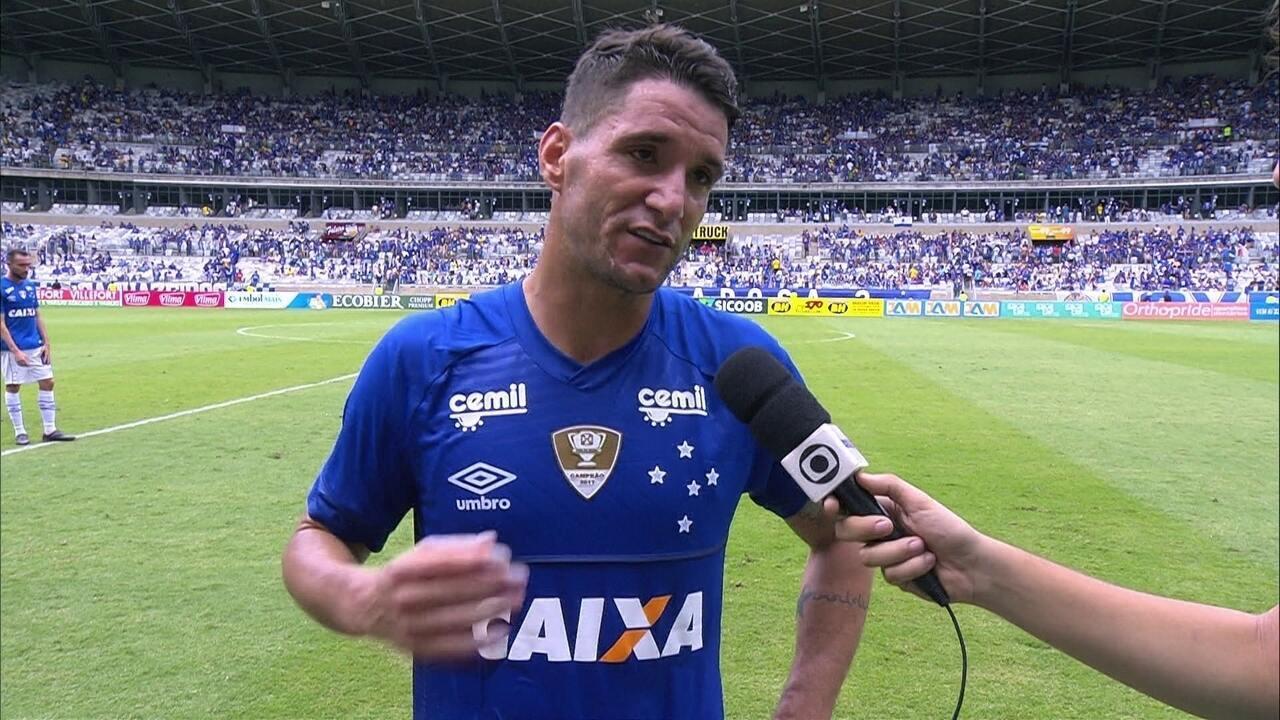 f97c44b4ef Thiago Neves brilha em vitória do Cruzeiro e projeta final