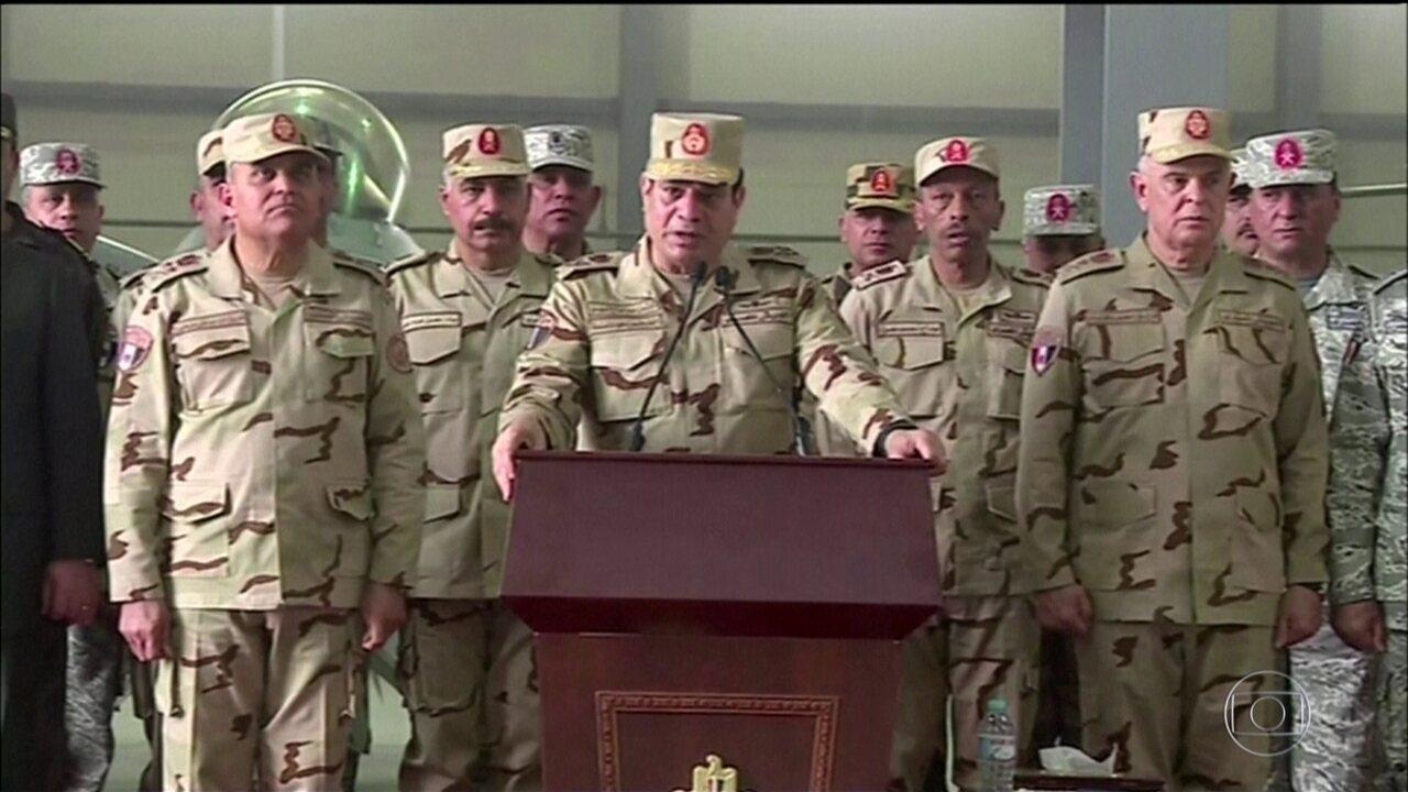 Egito tem reeleição polêmica