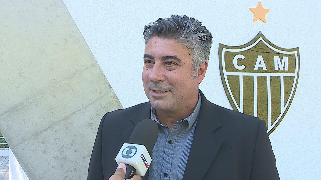 Alexandre Gallo confirma Thiago Larghi como treinador do Atlético-MG