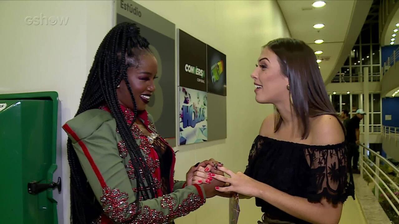Iza comenta novo clipe 'Ginga': 'Muito sonhado e superou as expectativas'