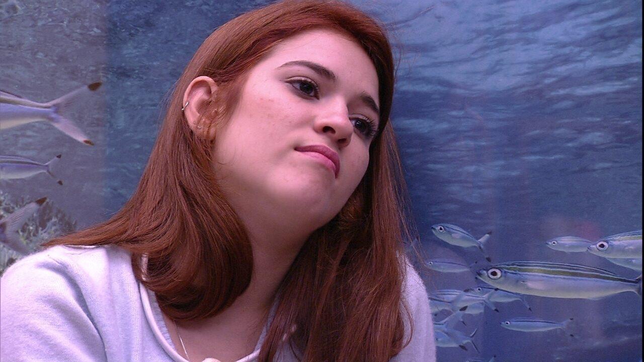 Ana Clara para Gleici: 'Acho que vou sair'